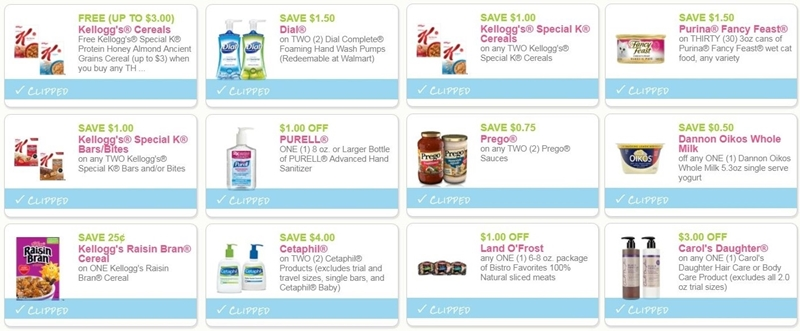 image about Prego Printable Coupons named i ♥ discount codes: fresh new printable discount codes for kelloggs, prego