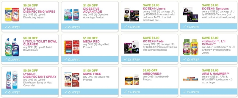 image relating to Lysol Printable Coupons known as i ♥ coupon codes: refreshing printable discount codes for kotex, lysol, far more
