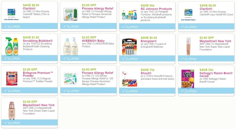 image about Claritin Printable Coupons named i ♥ coupon codes: refreshing printable discount coupons for aveeno, maybelline