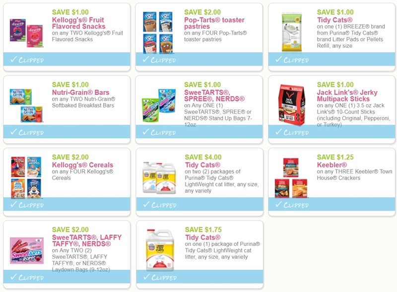 image about Tidy Cat Printable Coupons named i ♥ coupon codes: fresh new printable discount codes for keebler, kelloggs