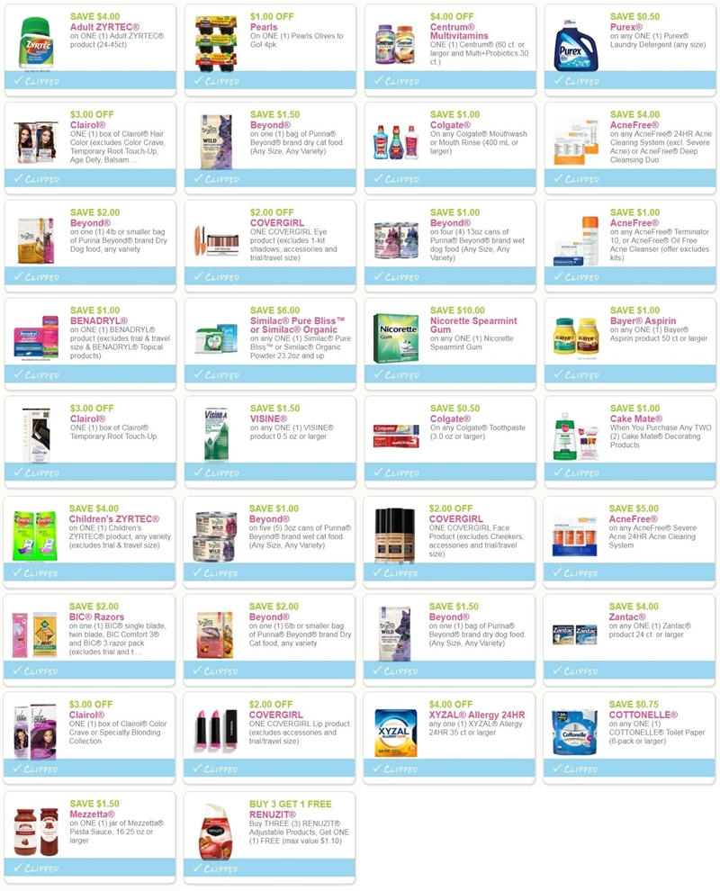graphic regarding Cottonelle Coupons Printable known as i ♥ discount coupons: contemporary printable coupon codes for centrum, colgate