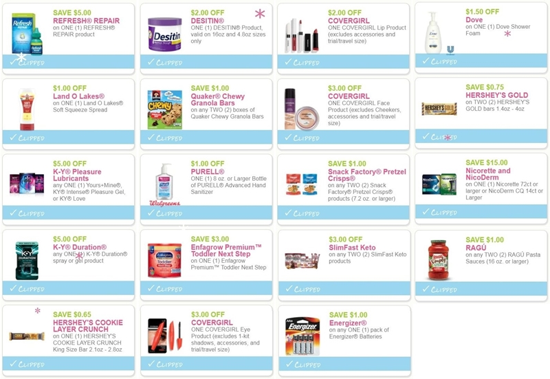 photograph relating to Covergirl Printable Coupons titled i ♥ discount coupons: fresh new printable discount codes for covergirl, hersheys