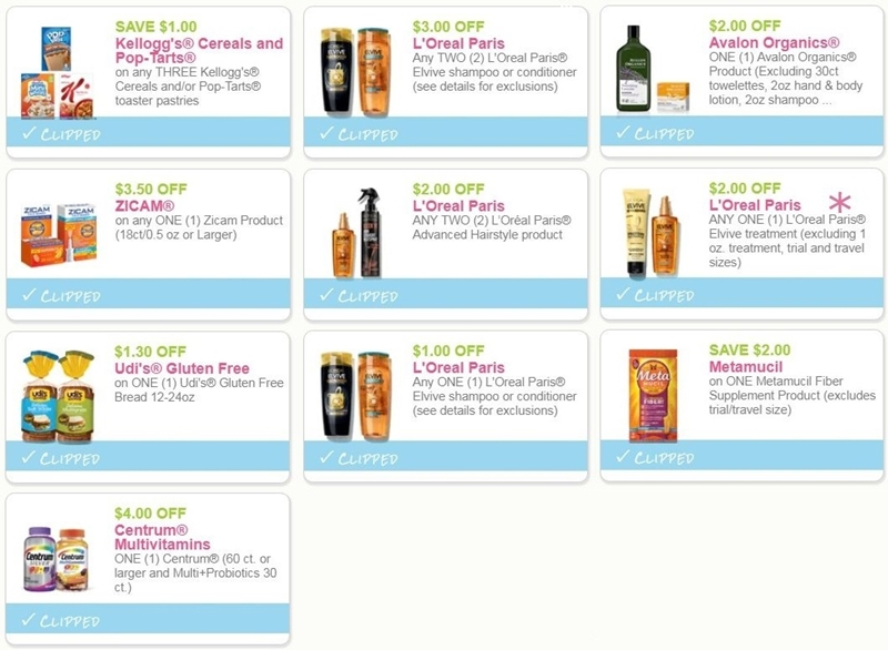 photo relating to L Oreal Printable Coupons identify i ♥ coupon codes: fresh new printable discount coupons for centrum, kelloggs