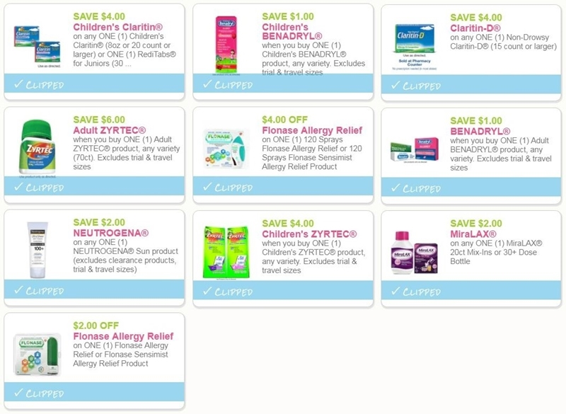 photograph about Miralax Printable Coupons known as i ♥ discount codes: final possibility coupon codes for neutrogena, allergy