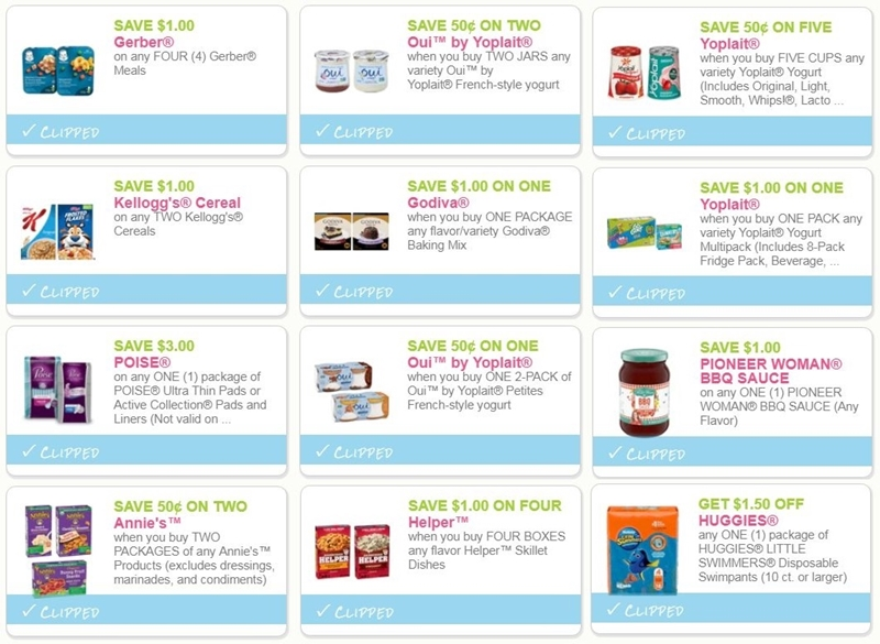 image relating to Poise Printable Coupons identified as i ♥ discount codes: remaining probability coupon codes for huggies, kelloggs