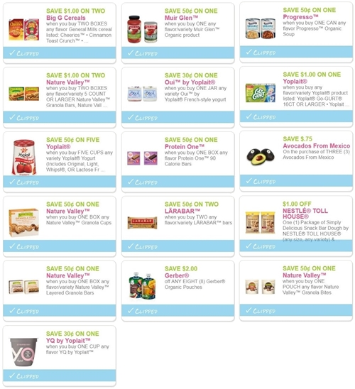 photo regarding Nature Valley Printable Coupons known as i ♥ coupon codes: ultimate prospect coupon codes: printable throughout 10/31/18