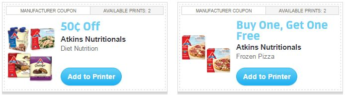 picture regarding Atkins Printable Coupons referred to as i ♥ discount codes: fresh atkins printable coupon codes