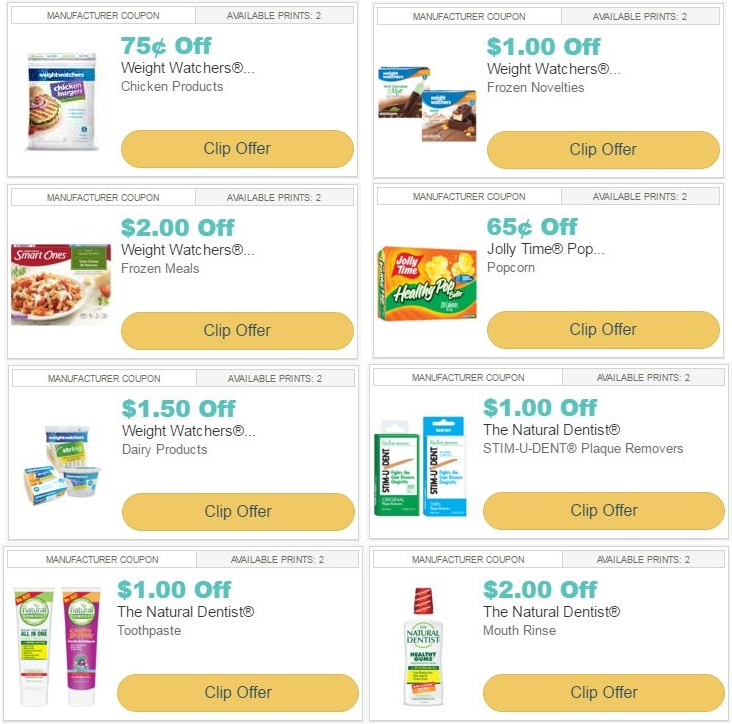 picture relating to Weight Watchers Printable Coupons referred to as i ♥ discount coupons: refreshing printable discount codes for fat watchers