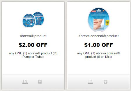 picture about Abreva Coupons Printable referred to as i ♥ discount codes: fresh new printable abreva coupon codes