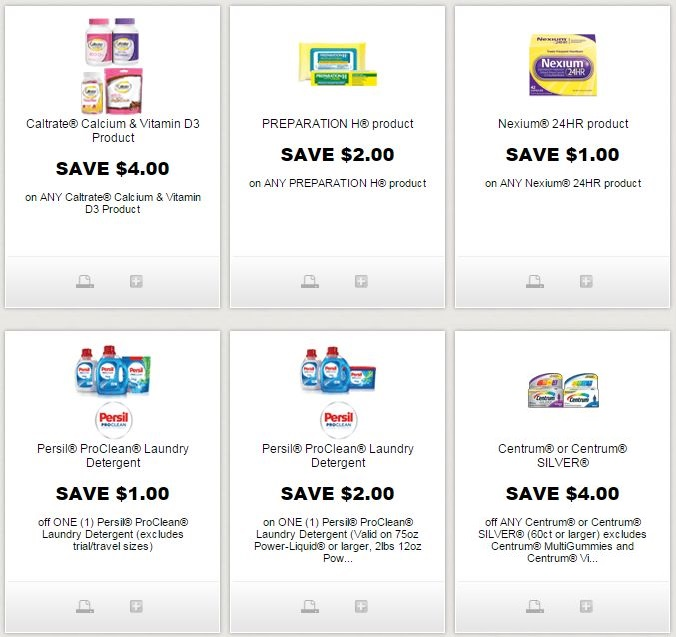 picture relating to Nexium Printable Coupon known as i ♥ discount coupons: fresh centrum, caltrate, preparing h, nexium