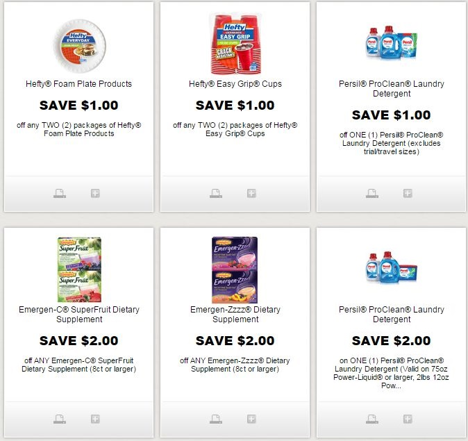 image relating to Hefty Printable Coupons called i ♥ discount codes: fresh new persil, large, emergen-c, emergen-zzzz
