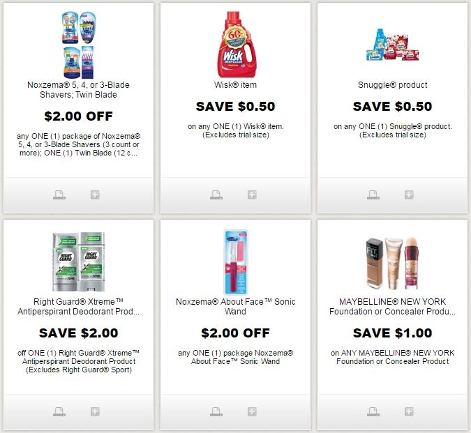 picture about Right Guard Printable Coupon identify i ♥ discount coupons: clean noxzema, wisk, snuggle, maybelline