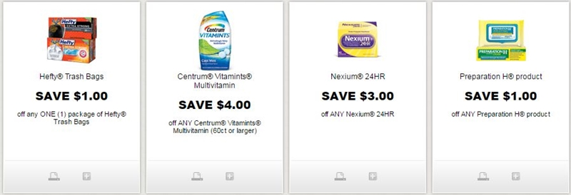 graphic about Hefty Printable Coupons titled i ♥ discount coupons: refreshing weighty, centrum, nexium, preparing h