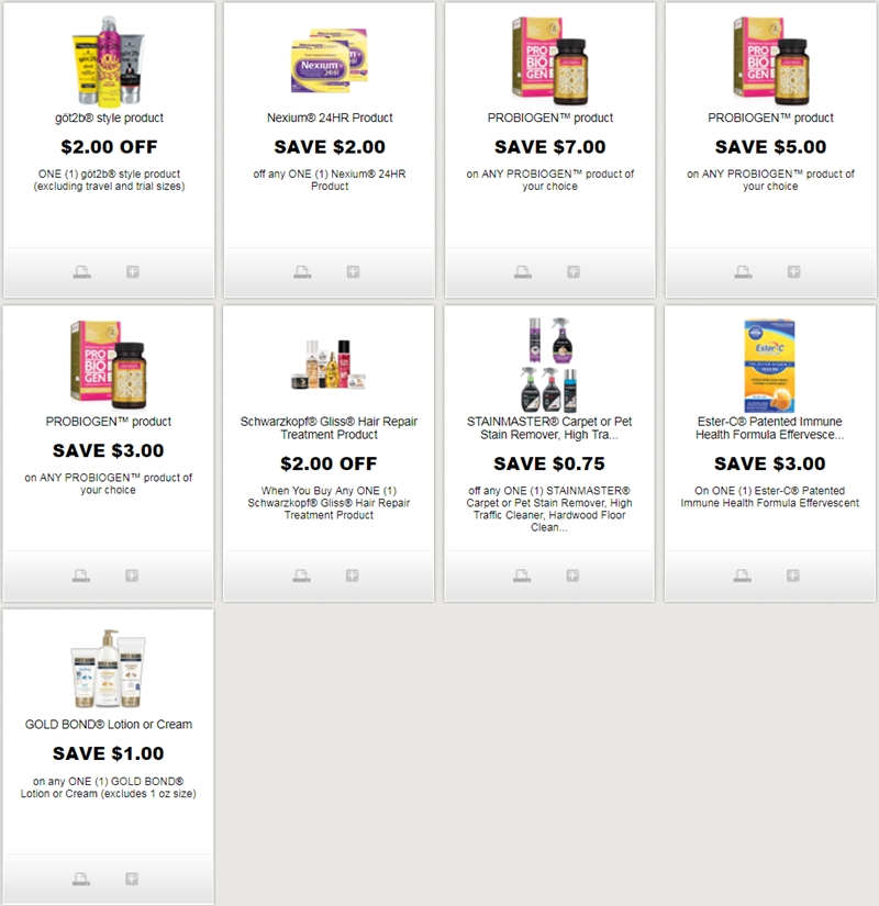 picture about Nexium Coupons Printable identify i ♥ discount codes: fresh new printable discount codes for acquired2b, schwarzkopf