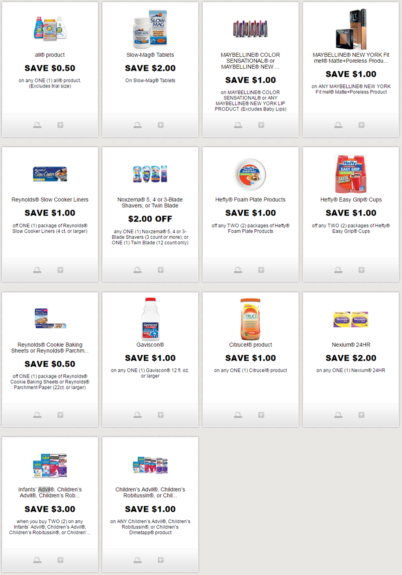 i ♥ coupons: new printable coupons for maybelline, all detergent