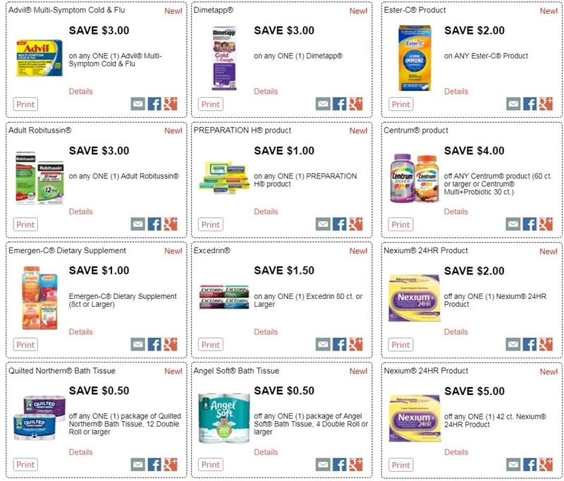 graphic relating to Advil Coupons Printable titled i ♥ discount codes: contemporary printable coupon codes for centrum, robitussin