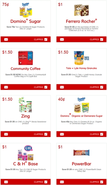 graphic about Printable Community Coffee Coupons named i ♥ discount coupons: clean printable discount coupons for domino / ch sugar