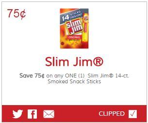 Slim jim coupons